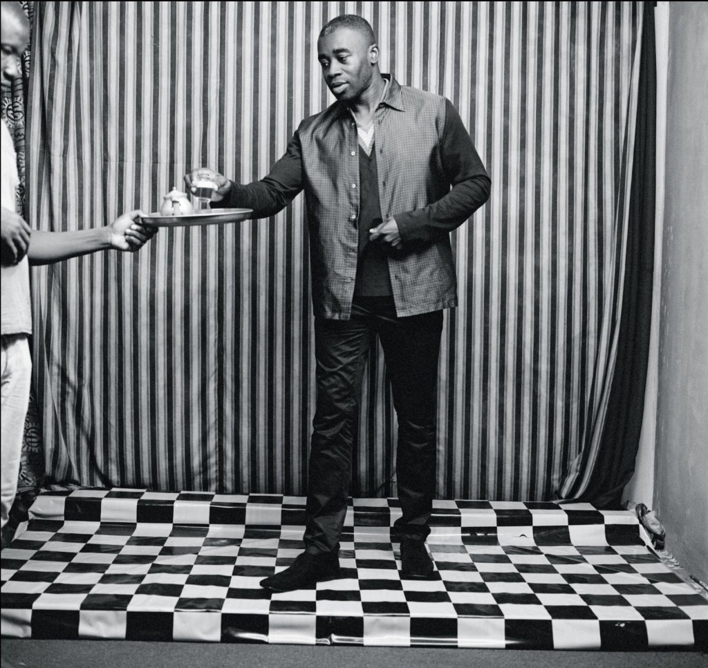 chris ofili by malick sidibe