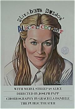 alice in concert poster